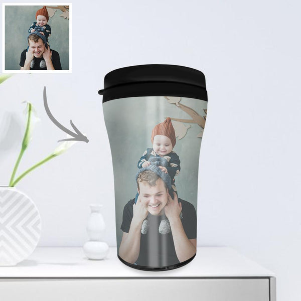 Custom Photo Coffee Cup Mini Travel Mugs Portable 250ml - I Love My Family