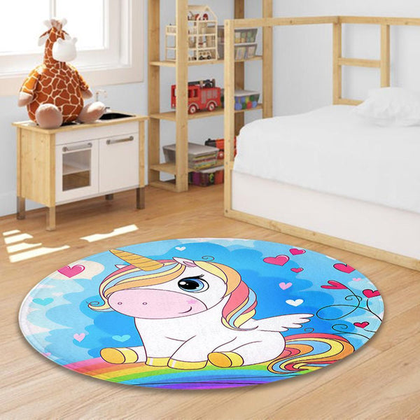 Unicorn Pink Carpet for Room Gifts for Girl