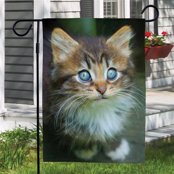 Custom Pet Photo Garden Flag