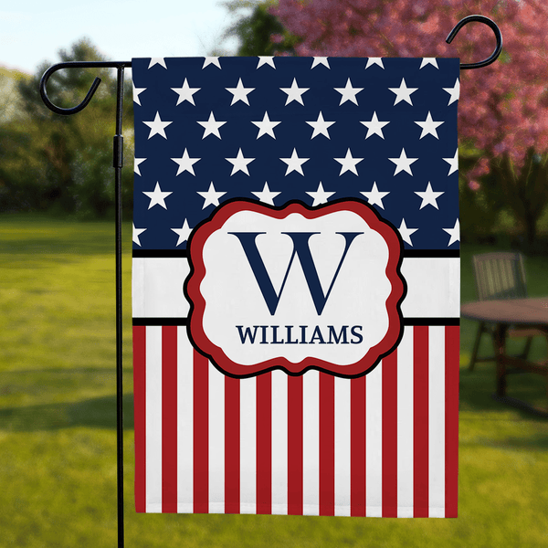 Custom Garden Flag for Independence Day