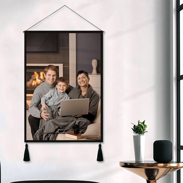 Father's Day Gift Family Photo Tapestry Gift For Dad