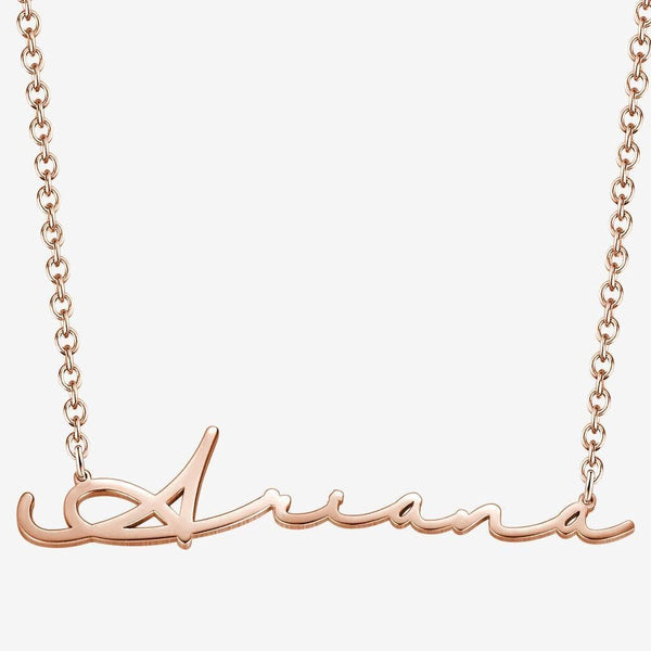 Signature Style Name Necklace Gifts for Girlfriend