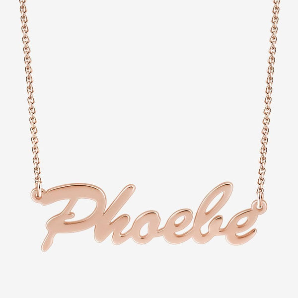 Personalized Name Necklace Classic Style