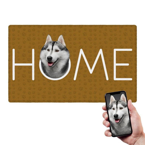 Custom Funny Doormat Pet Photo Doormat For Family