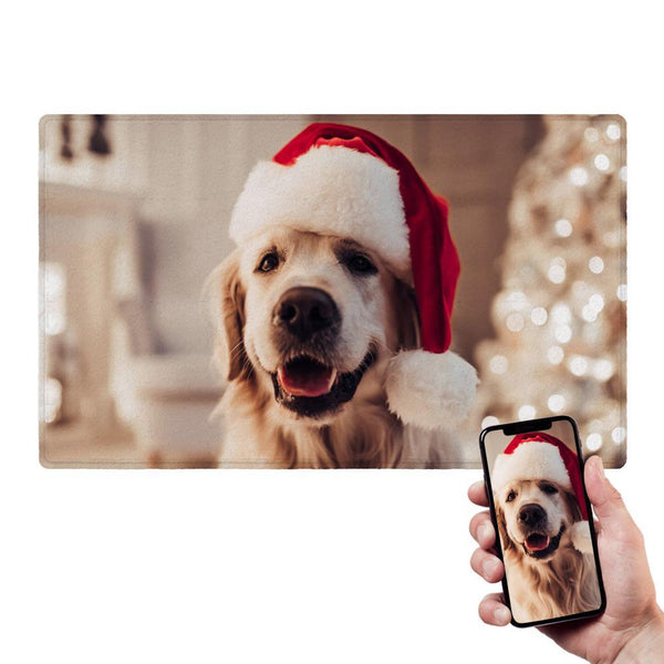 Christmas Gifts Custom Photo Doormat For Pet Head Doormat Christmas Gifts