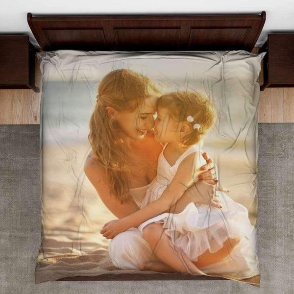 Bed Sheet Custom Bedding Set Custom Comforters Gift For Mom