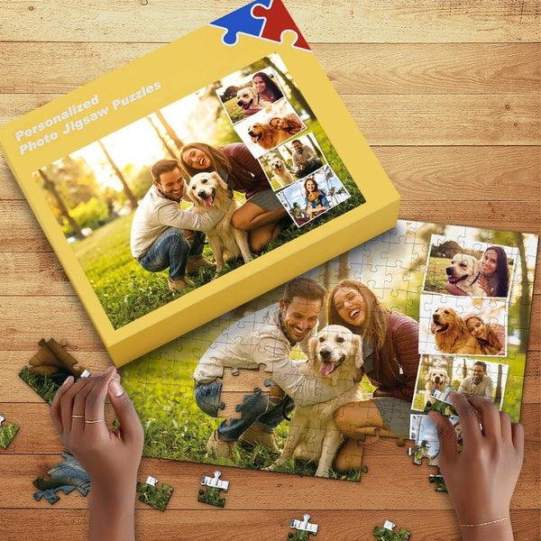 Custom Photo Jigsaw Puzzle for Lover 35-1000pcs with Box