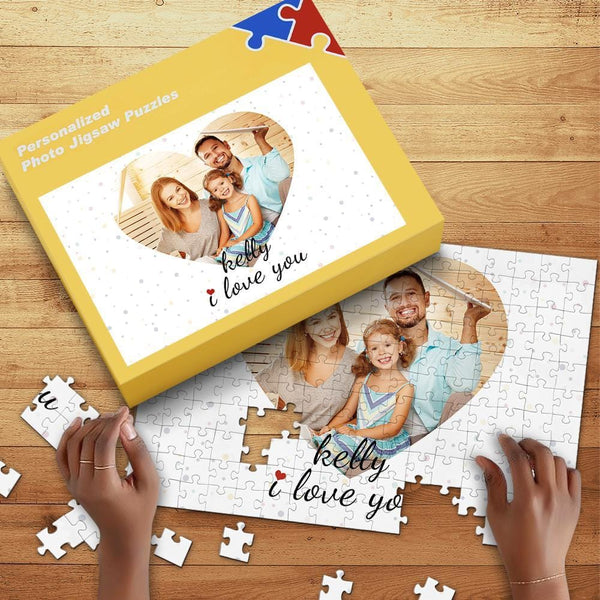Custom Photo Jigsaw Puzzle For Girl Free Puzzle Box 35-1000pcs
