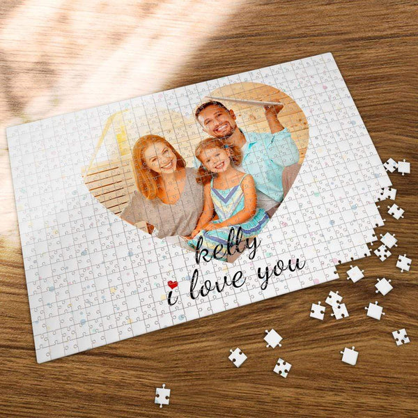Custom Photo Jigsaw Puzzle Love daughter 35-1000 Piece Jigsaw