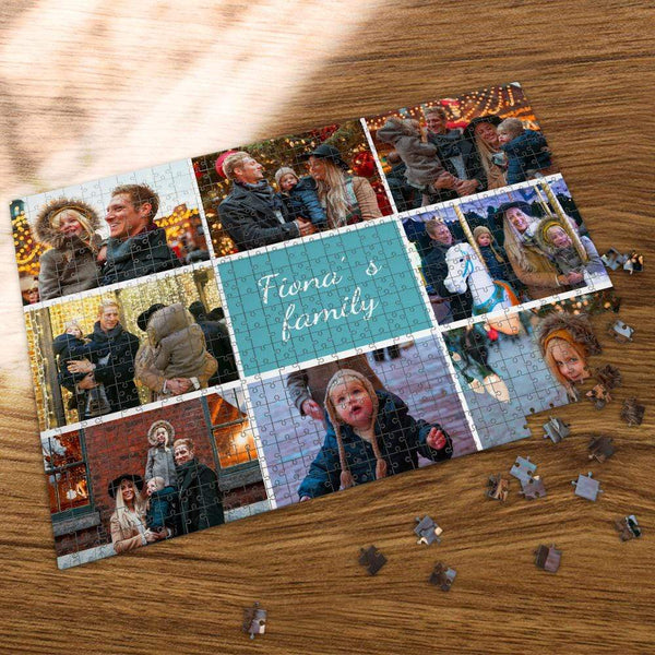 Custom Photo Jigsaw Puzzle To My Beloved Family 35-1000 Piece Jigsaw