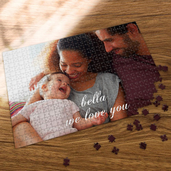 Custom Photo Jigsaw Puzzle Newborn Baby 35-1000 Piece Jigsaw