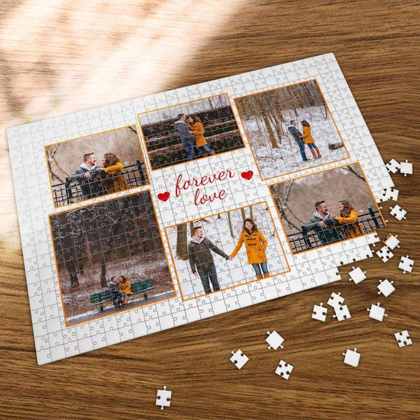 Custom Photo Jigsaw Puzzle To My Beloved One 35-1000 Piece Jigsaw