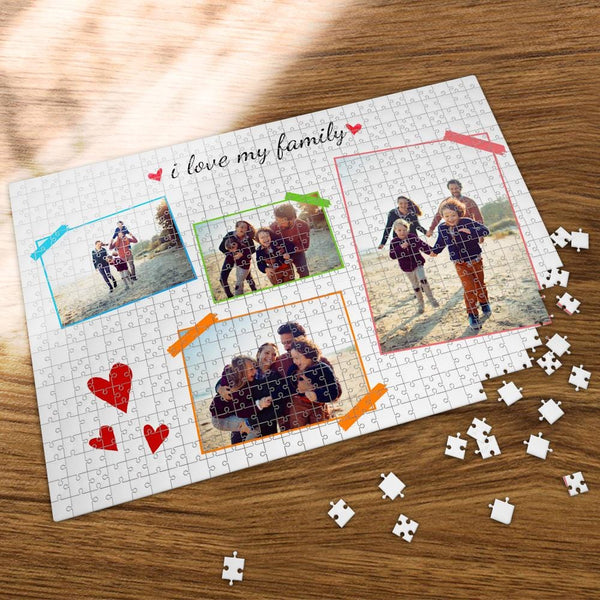 Custom Photo Jigsaw Puzzle  Father's Gift 35-1000 Piece Jigsaw