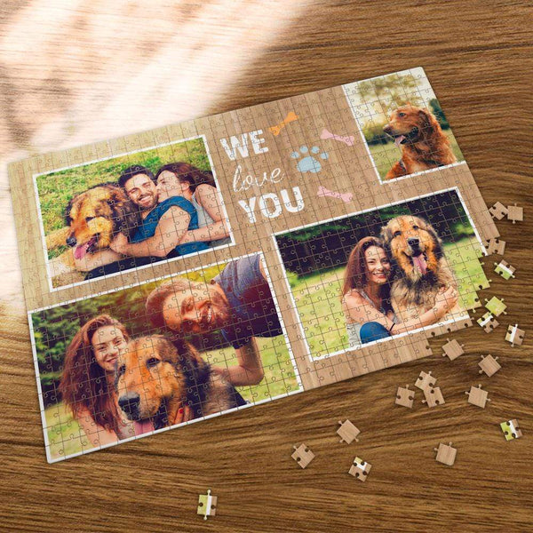 Custom Photo Jigsaw Puzzle We Love You  35-1000 Piece Jigsaw