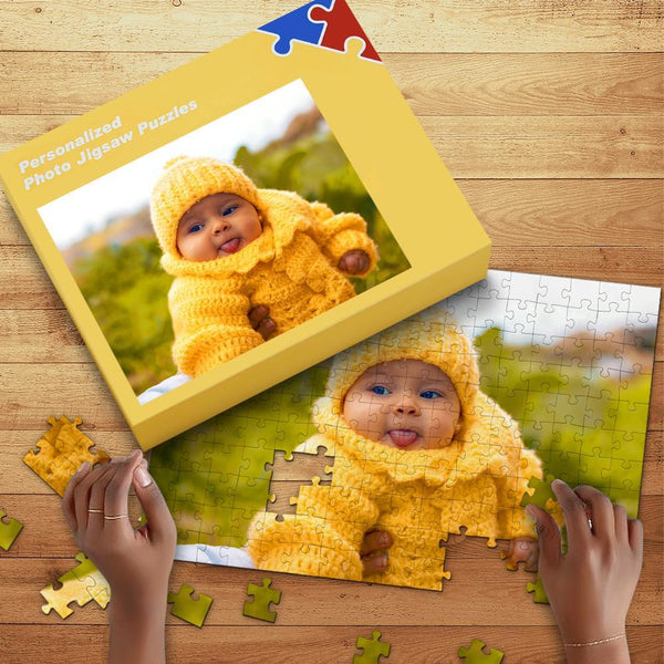 Personalized Photo Puzzle with Box Gifts for Kids 35-1000pcs