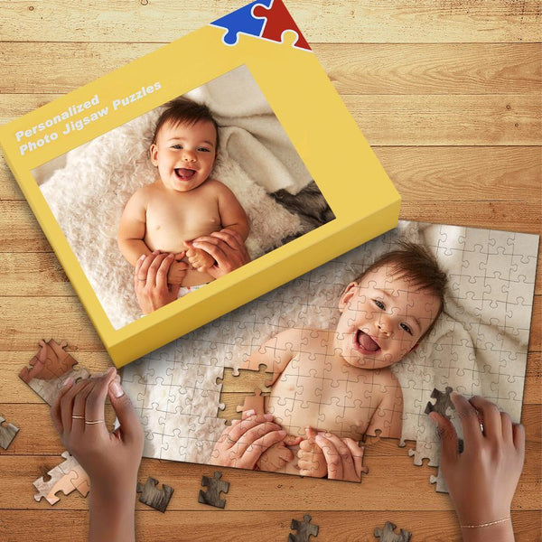 Custom Photo Jigsaw Puzzle For Baby 35-1000 Piece Jigsaw with Box