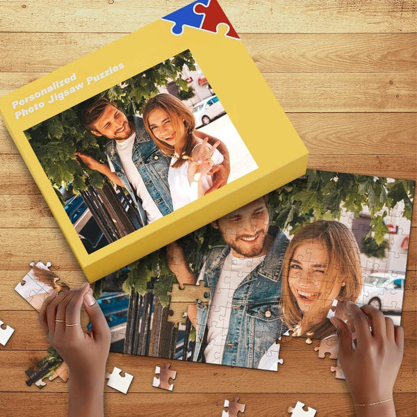 Custom Photo Jigsaw Puzzle Gift For Love U 35-1000pcs