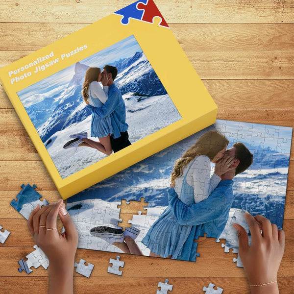 Personalized Photo Jigsaw Puzzle Best Gifts To Couple 35-1000 Piece Jigsaw