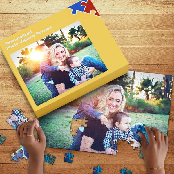 Personalized Photo Jigsaw Puzzle Best Gifts To Parents 35-1000Piece Jigsaw