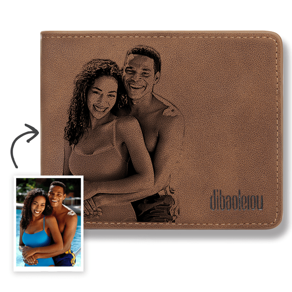 Custom Photo Wallet Romantic Style Bifold Wallet