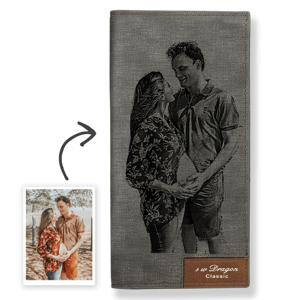 Women's Custom Photo Wallet For My Girl Leather Wallet
