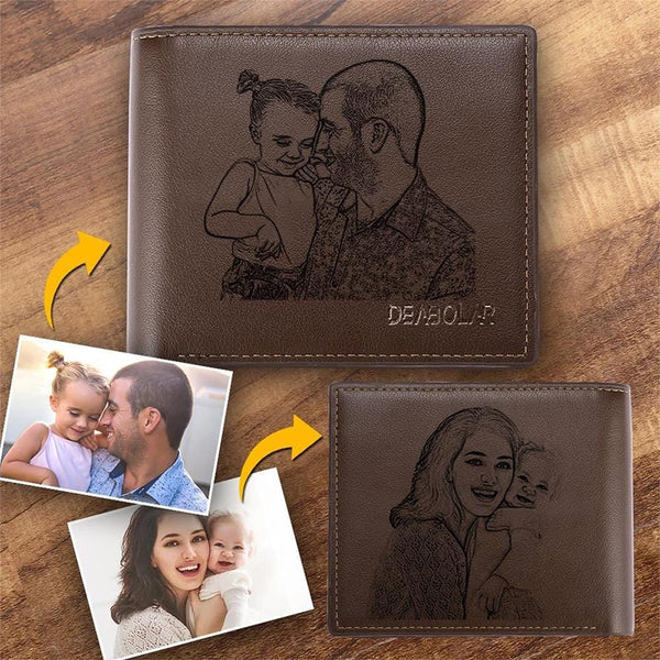 Father's Day Gift Photo Wallet Gifts For Stepfather