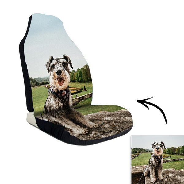 Car Seat Covers Custom Car Seat Print Cute Pets