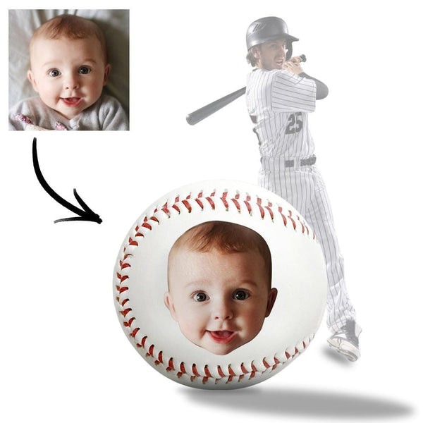 Personalized Baseball Coach Gift Custom Picture Design Baby Baseball Gift