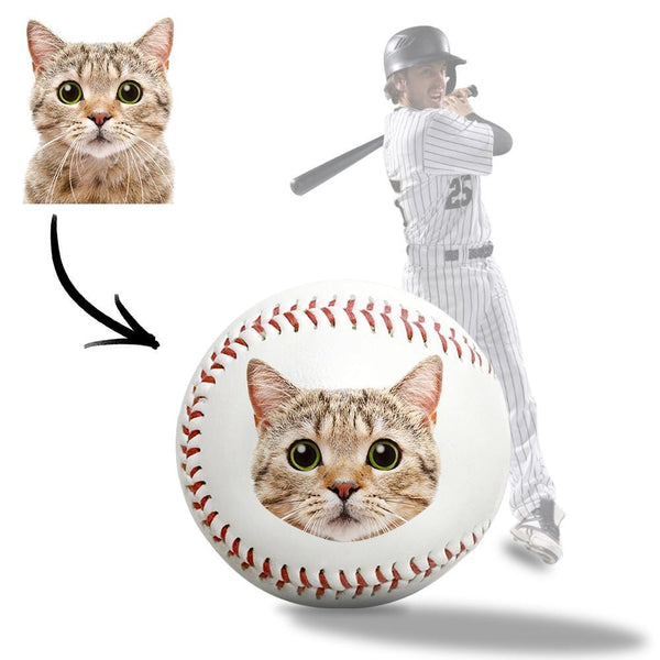 Personalized Senior Baseball Gift Love my cat