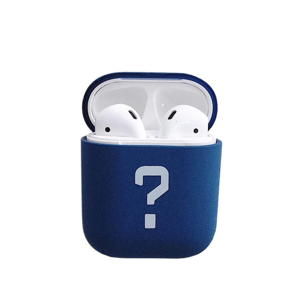 Personalised Hard Carrying AirPods  Earphone Case Blue
