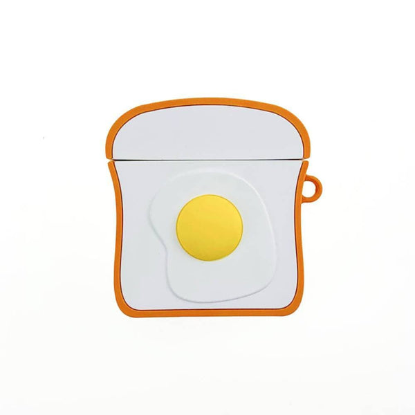 Personalised Egg Toast AirPodss Cover Earphone Case