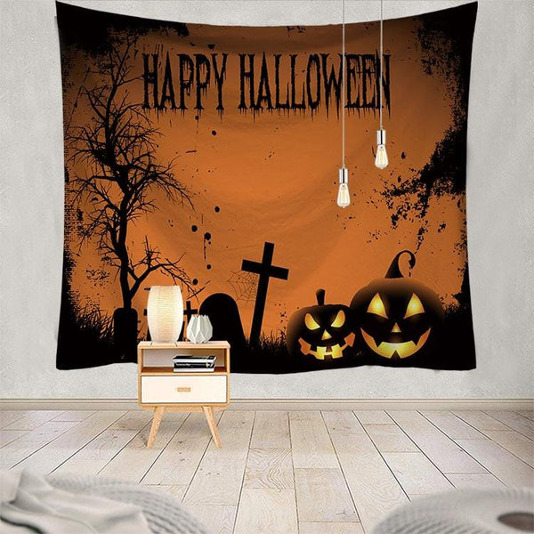 Halloween Tapestry Home Wall Decor for Halloween Party