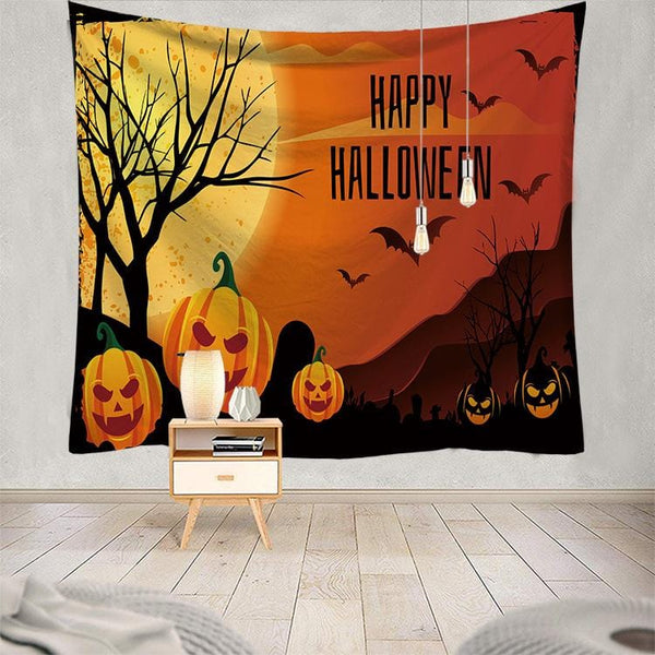 Halloween Party Decoration Tapestry Home Decor