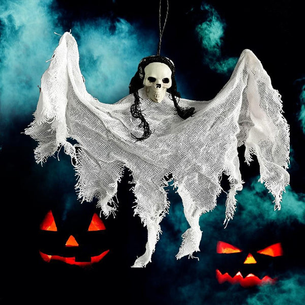 Hanging Ghost Mini Skeleton Ghost Halloween Decoration - 6 Colors