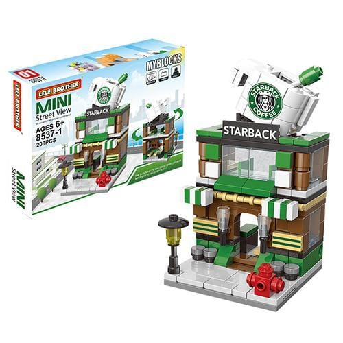Street View Building Blocks Mini Blocks For Kids