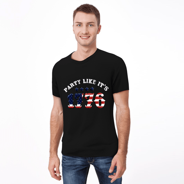 Independence T-shirt for Men and Women Party Like It's 1776