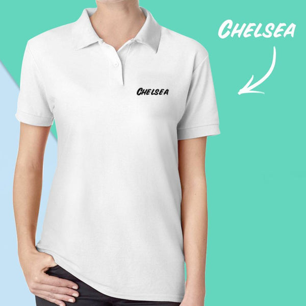 Custom Polo Shirt Name Polo Shirt 2 Color