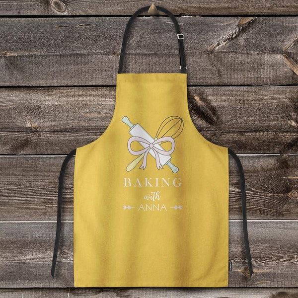 Chef Apron Custom Printed Apron with Your Text Baking