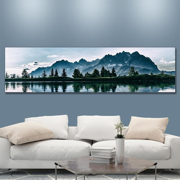 Custom Painting for Family Unique Gifts Home Decor 150*40cm