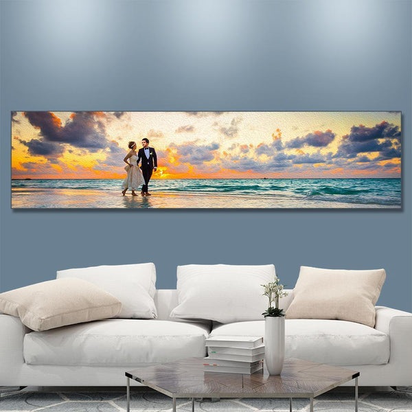 Custom Painting Wall Art Home Decoration Wall Art 160*40cm