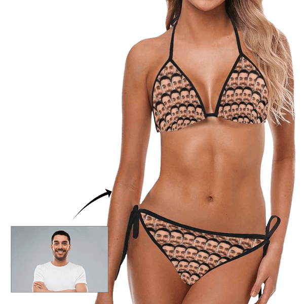 Custom Face Women's Sexy Bikini Suit