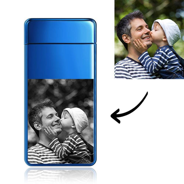 Custom Photo Lighter For SuperDad Electronic Cigarette Lighter