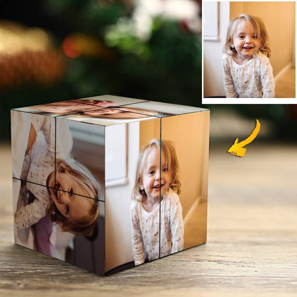 Custom Photo Rubik's Cube Baby's Gift Multiphoto Cube