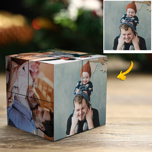 Custom Photo Rubik's Cube Multiphoto Colorful Cube