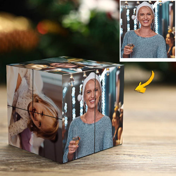 Custom Photo Rubik's Cube Family's Love Multiphoto Cube