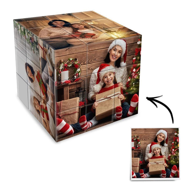 Custom Photo Rubik's Cube Multiphoto Cube Christmas Gifts