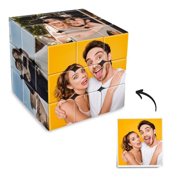 Personalized Photo Rubik's Cube For Lovers Multiphoto Cube