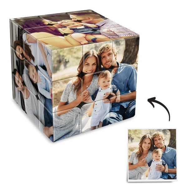 Custom Photo Rubik's Cube Home Decoration Family Activities