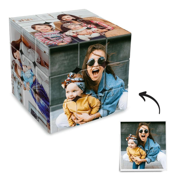 Custom Photo Rubik's Cube Family Activities Multiphoto Cube
