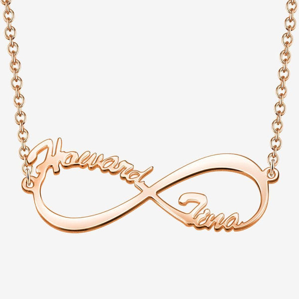 Infinity Name Necklace Personalized Necklace